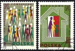 Poland 1970 - Mi 2026/27 - YT 1874/75 ( National Census ) - 1944-.... République