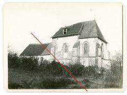 Tourcelles-Chaumont Eglise - Vouziers.Attigny Adrennen   -guerre 14/18-WWI  Photo Allemande - Autres Communes