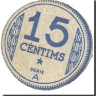 Billet, Espagne, MANRESA, 15 Centimes, Blason, 1937, 1937, SUP - Spanien