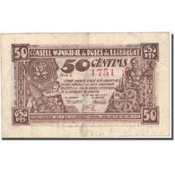 Billet, Espagne, LLOBREGA, 50 Centimes, Corne D'abondance, 1937, 1937, TTB - Spanien