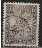 MADAGASCAR                N°  YVERT  64  (2)      OBLITERE       ( Ob   1 / 37 ) - Madagascar (1889-1960)