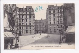 CP 75 PARIS 19eme Square Bolivar Rue Bolivar - Arrondissement: 10
