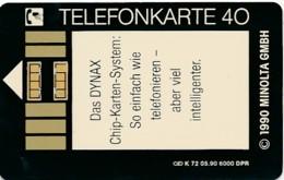 K 72 90 Minolta GmbH  - Aufl 6000 - - Deutschland