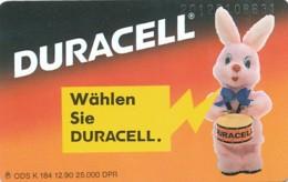 K 184 90 Duracell  - Aufl 25 000 - Deutschland