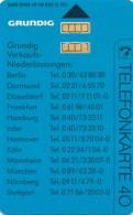 K 202 91  Grundig   - Aufl 4 000- - Deutschland