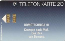 K 230 91 Siemens AG - Domotechnica 91  - Aufl 3 000 - - Deutschland