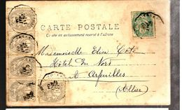 33981 - BLANC  6 TP - Postmark Collection (Covers)
