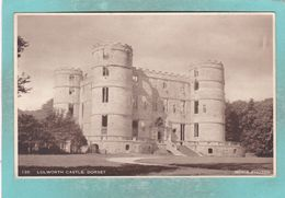 Small Old Postcard Of Lulworth Castle,Dorset ,England.K103. - Angleterre