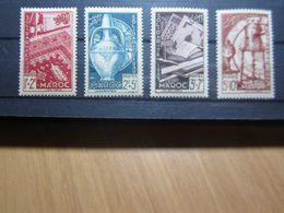VEND BEAUX TIMBRES DU MAROC N° 288 - 291 , XX !!! - Marokko (1891-1956)