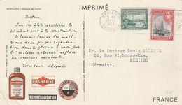 PUB PLASMARINE LABO LA BIOMARINE BERMUDES HAMILTON 1952 - Bermudes