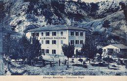"010703 ""SIENA - CHIANCIANO BAGNI - ALBERGO MECERINA"" ANIMATA.  CART  NON SPED - Hotels & Restaurants"