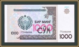 Uzbekistan 1000 Sum 2001 P-82 (82a) UNC - Usbekistan
