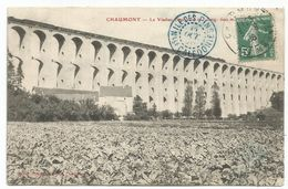 N°137 AU RECTO CARTE CHAUMONT HAUTE MATNE 1908 POUR ILE DES PINS NLEE CALEDONIE - Postmark Collection (Covers)