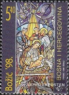 Bosnia - Croatian. Post Mostar 47 (complete Issue) Unmounted Mint / Never Hinged 1998 Christmas - Bosnia And Herzegovina