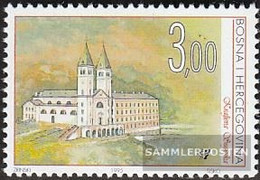 Bosnia - Croatian. Post Mostar 23 (complete Issue) Unmounted Mint / Never Hinged 1995 Monuments - Bosnia And Herzegovina
