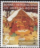 Bosnia - Croatian. Post Mostar 22 (complete Issue) Unmounted Mint / Never Hinged 1995 Christmas - Bosnia And Herzegovina