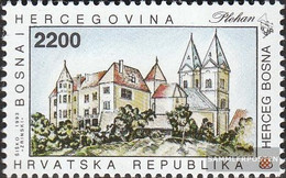 Bosnia - Croatian. Post Mostar 11 (complete Issue) Unmounted Mint / Never Hinged 1993 Monuments - Bosnia And Herzegovina