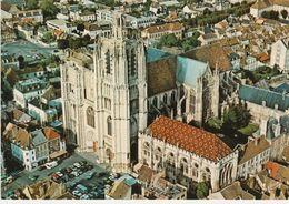 89 Sens N°29146 Vue Aérienne Cathédrale St Etienne VOIR DOS éditions Valloire - Sens