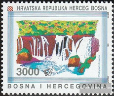 Bosnia - Croatian. Post Mostar 9 (complete Issue) Unmounted Mint / Never Hinged 1993 Natural Monuments - Bosnia And Herzegovina