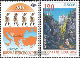 Bosnia-Herzegovina 85-86 (complete Issue) Unmounted Mint / Never Hinged 1997 Say And Legends - Bosnia And Herzegovina