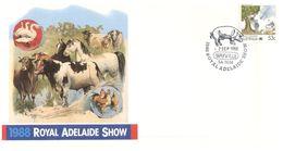 (B 6) Australia  - Royal Adelaide Show 1988 + Cairns Games 1988 - FDC