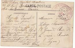 CPFM Hôpital Auxiliaire N° 11 Aix Les Bains Savoie 1914 - Guerre De 1914-18