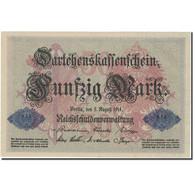 Billet, Allemagne, 50 Mark, 1914, 1914-08-05, KM:49b, SUP - 50 Mark