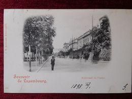 LUXEMBOURG / LUXEMBURG - BOULEVARD DU VIADUC / 1898 (AB33) - Luxembourg - Ville