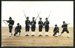 AK Koloniale Reserve - Colonne-Geweer, Niederländische Uniformen - Militaria