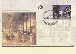 Belgium Belgie 2000 Stationery Card:  Art Paintings; Bruxelles Avenue De La Toisson D'Or - Gulden Vlieslaan; Costumes - Stamped Stationery