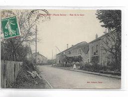 70 - CORBENAY ( Haute-Saône ) - Rue De La Gare - Francia