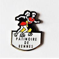 Pin's Patinoire De Rennes  - Bretagne R35 - Cities