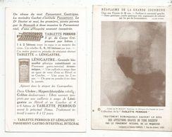 Publicité,TABLETTE PERROUD,pansement Intégral, épreuve Radiographique ,NEOPLASME DE LA GRANDE COURBURE - Advertising