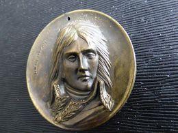 Belle Medaille Bonaparte Uniface - France