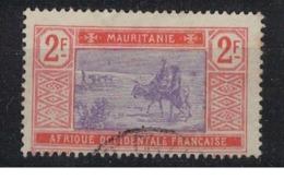 MAUTITANIE              N°  YVERT    32   OBLITERE       ( Ob   1 / 52 ) - Mauritania (1906-1944)