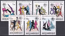 Mosambik Mosambique 1983 Sport Spiele Olympia Olympics IOC Los Angeles Handball Volleyball Boxen, Mi. 928-4 ** - Mozambique