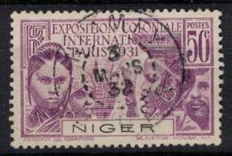 NIGER           N°  YVERT    54  OBLITERE       ( Ob   1 / 52 ) - Niger (1921-1944)