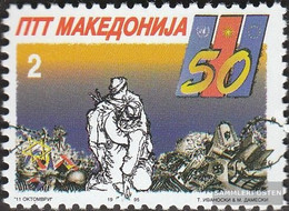 Makedonien 41 (complete Issue) Unmounted Mint / Never Hinged 1995 End Second War - Macedonia