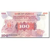 Billet, Uganda, 100 Shillings, Undated (1982), KM:19b, NEUF - Uganda