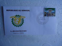 SENEGAL   FDC FOIRRE INTERNATIONAL DAKAR 1981 - Senegal (1960-...)