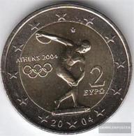 Greece 2004 Stgl./unzirkuliert 2004 2 Euro Olympics Games In Athens - Grèce