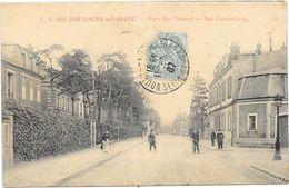 BOULOGNE SUR SEINE : PARC DES PRINCES- RUE GUTTEMBERG - Boulogne Billancourt