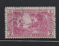 LOT 34 - NOUVELLES HEBRIDES N°184 - Cote 14 € - French Legend