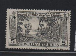 LOT 34 - NOUVELLES HEBRIDES N°185 - Cote 24 € - French Legend