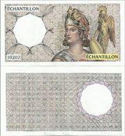 Billet échantillon 10202 Athéna Neuf - Specimen