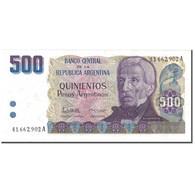 Billet, Argentine, 500 Pesos Argentinos, UNDATED (1984), KM:316a, SUP - Argentinien