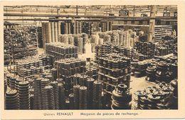 BOULOGNE BILLANCOURT : USINE RENAULT - MAGASIN DE PIECES DE RECHANGE - Boulogne Billancourt