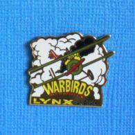 1 PIN'S //  ** VIDÉO GAMES / WARBIRDS / LYNX / ATARI ** . (Défi Lynx Atari 3615) - Jeux
