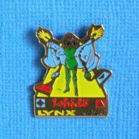 1 PIN'S //  ** VIDÉO GAMES / ISHIDǑ / LYNX / ATARI ** . (Défi Lynx Atari 3615) - Jeux