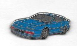 Pin's  Automobile  RENAULT  ALPINE  A 610  Bleu  De  1991 - Renault
